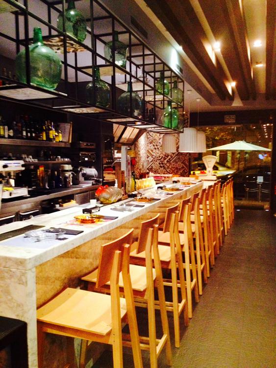 Restaurante Mercatbar en Valencia
