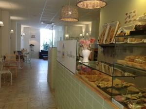 Cafetería Senyoreta Magdalena en el Barrio de Ruzafa (Valencia)
