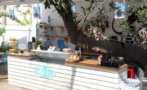 Restaurante La Más Bonita en la Playa de la Patacona en Valencia