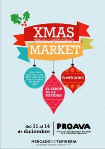 El Xmas Market, organizado por Proava, tiene lugar en el Mercado de la Tapinería de Valencia