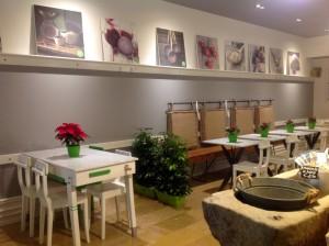 El restaurante italiano Ciao Checca está ubicado en los bajos del Mercado de Colón en Valencia