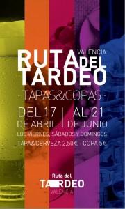 Ruta del Tardeo: tapas y copas en Valencia