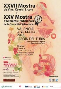 Mostra de Vinos, cavas y licores y de Alimentos Tradicionales de la Comunidad Valenciana