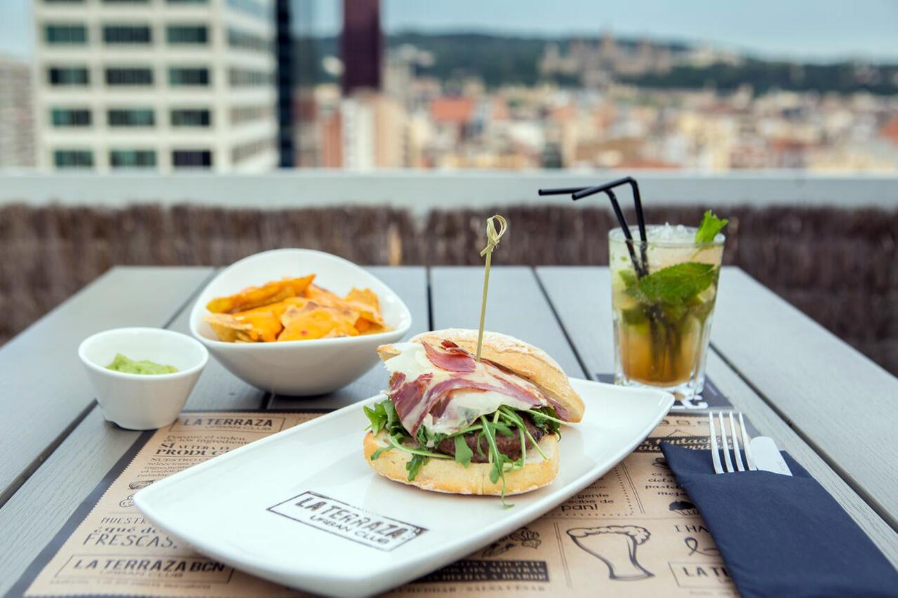 Terraza VLC Urban Club en Expo Hotel Valencia