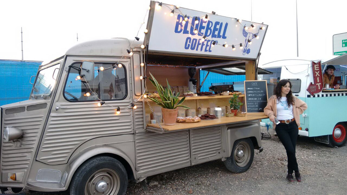 Bluebell Coffee food truck