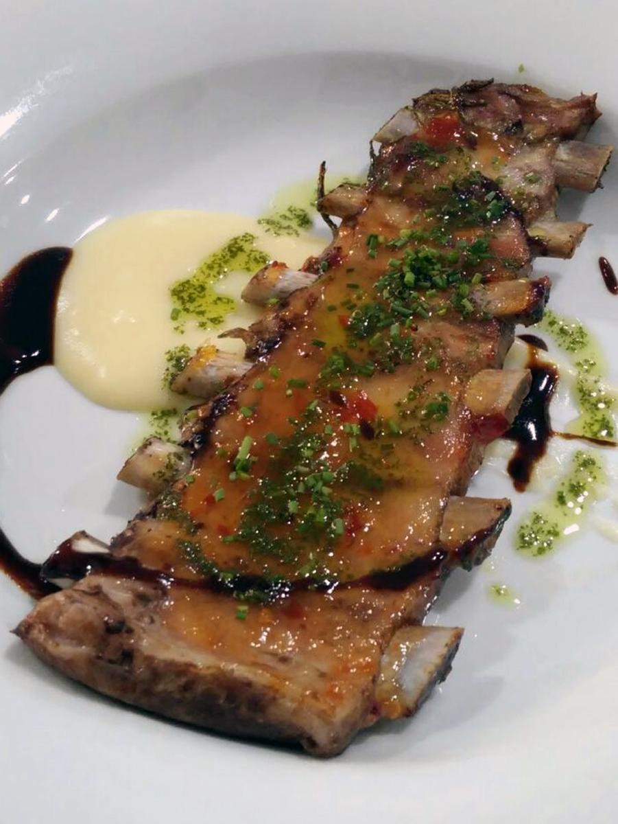 The Book. Restaurant & Lounge (Valencia) es el proyecto personal del chef Alfonso J. Lanzas.