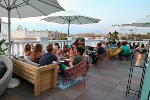 Carmen Polo Terrace está ubicada en la quinta planta del Hotel del Carmen (Valencia)