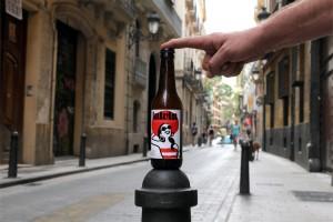 La cervecera valenciana Tyris ha sido la encargada de crear la cerveza LaLola, todo un homenaje al barrio del Carmen