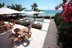 El restaurante Mar Blava está ubicado en la playa Mar Xica de Benicarló (Castellón)
