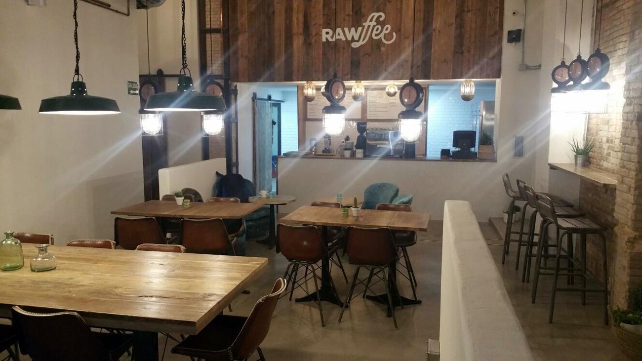 La carta de Rawffee en Valencia ha contado con la asesoría de Tändem Gastronómico