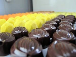 La pastelera autora de esta serie de bombones valencianos es Leyla Ruiz