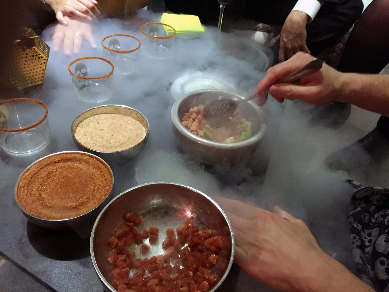 Víctor Rodrigo es el chef y propietario del restaurante Samsha en Valencia