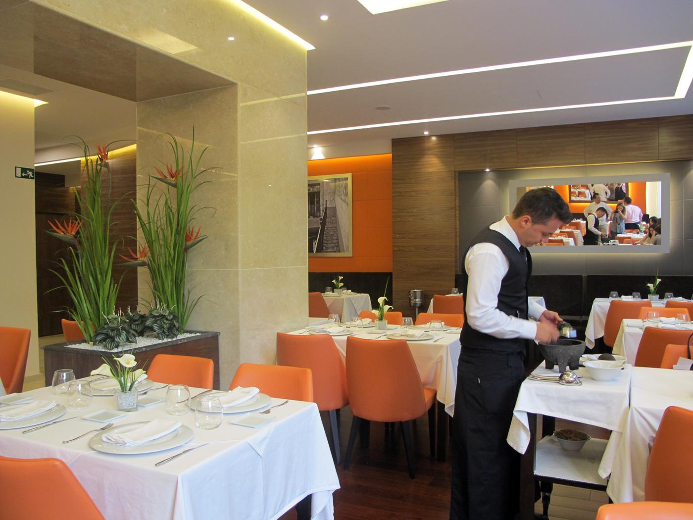 Restaurante Ameyal, alta cocina mexicana en Valencia