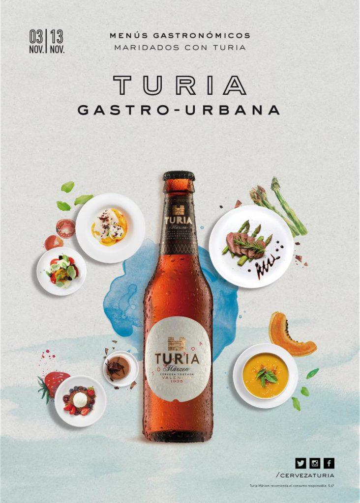 La III edición de Turia Gastro Urbana se celebra en Valencia del 3 al 13 de noviembre