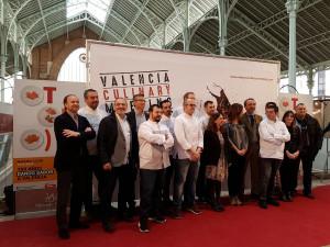 Chefs participantes en el Valencia Culinary Meeting