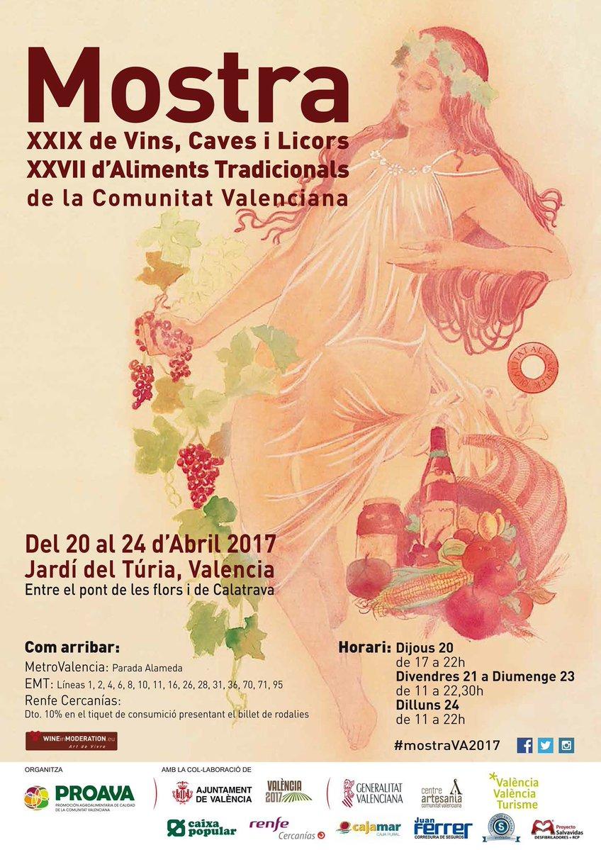 Mostra de Vinos, Cavas y LicoresyMostra de Alimentos Tradicionales