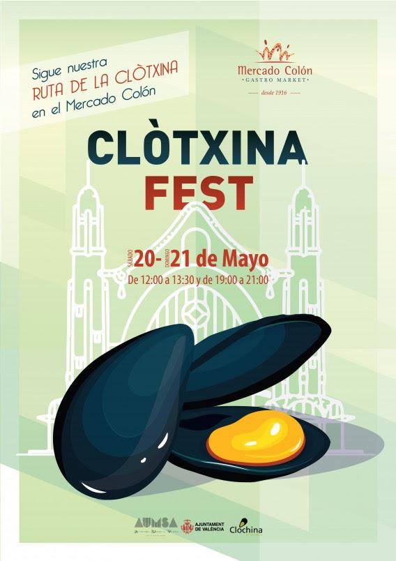 Clòtxina Fest en el Mercado de Colón