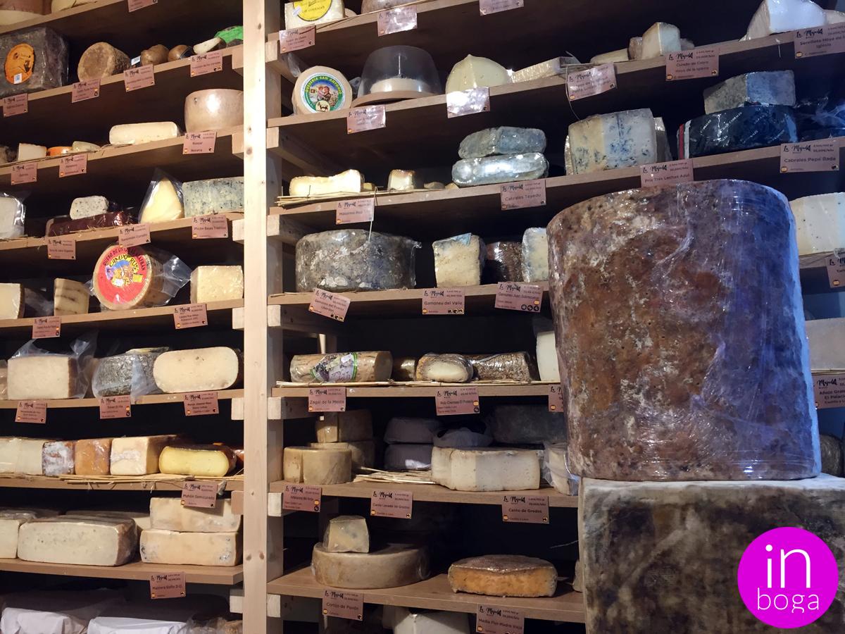 La Majada Quesos es el primer cheese bar en Valencia donde degustar, descubrir y comprar los mejores quesos europeos y españoles de pequeños productores artesanos