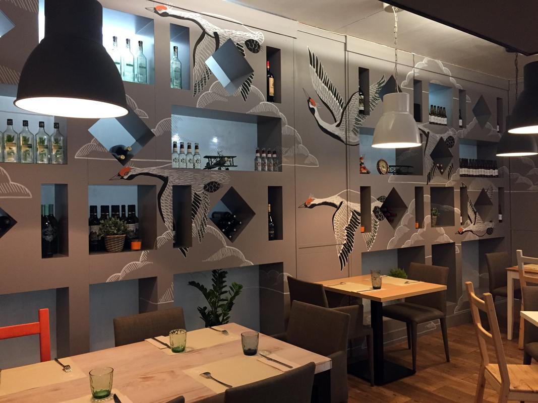 El restaurante A Contracorriente ya es todo un imprescindible de la Gran Vía de Valencia