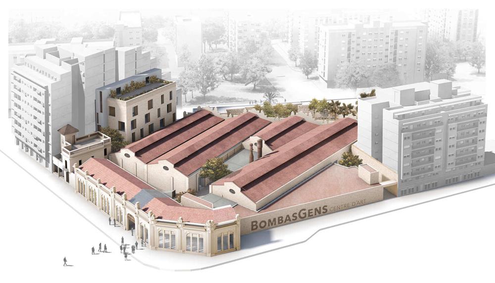 Ricard Camarena Restaurant abre en la antigua fábrica de Bombas Gens