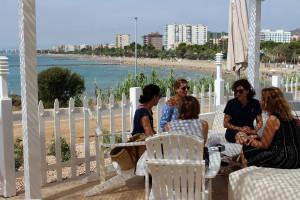 El Club Palasiet cuenta con unas vistas extraordinarias a la Bahía de Benicàssim