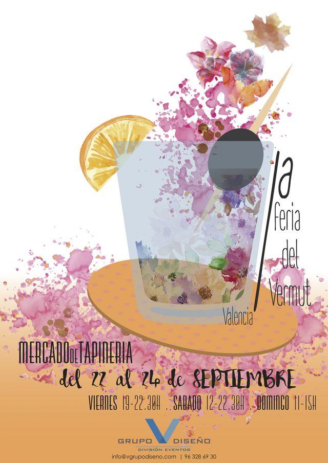 La I Feria del Vermut en Valencia tendrá lugar en el Mercado de Tapinería