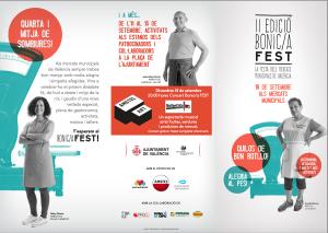 Llega a Valencia la II edición del Bonic/a Fest, la fiesta de los mercados.