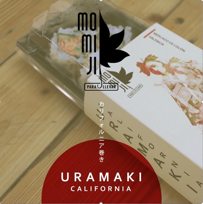 El restaurante japonés Momiji presenta su nuevo concepto 'Momiji para llevar'