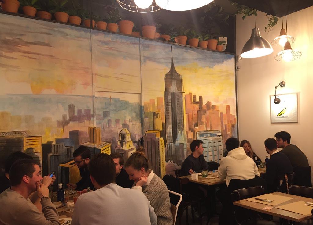 Franky's: restaurante americanno en Valencia