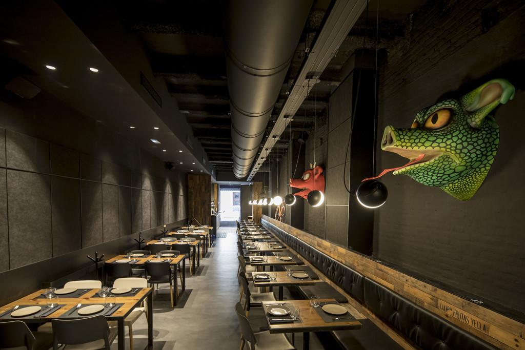 Restaurante Canalla Bistro en Valencia.
