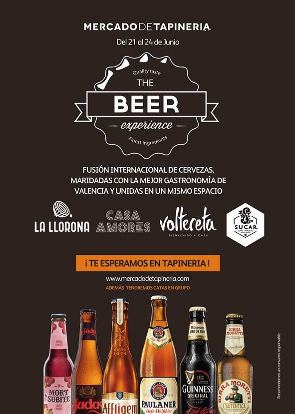 The Beer Experience en Mercado de Tapinería