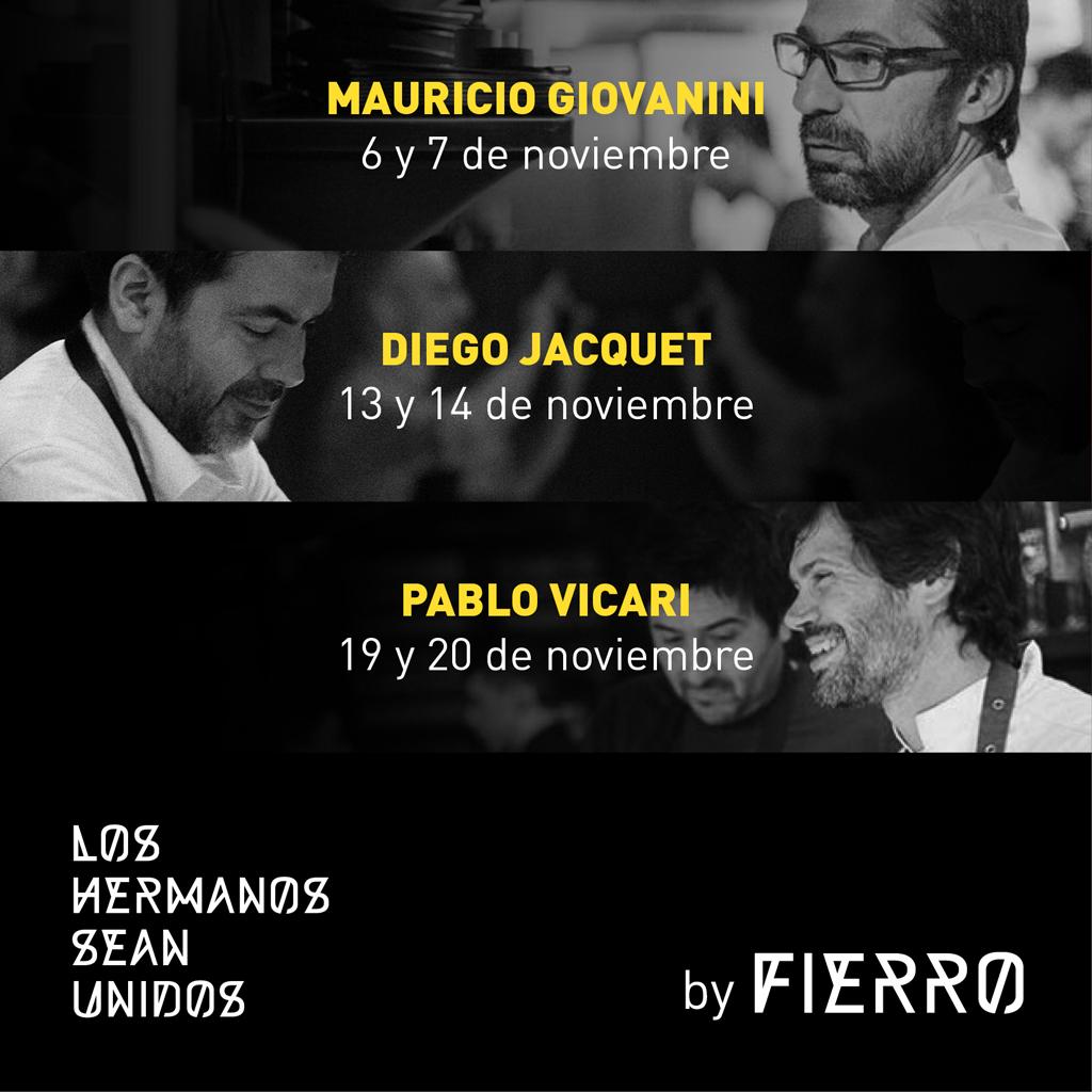 Ciclo 'Los hermanos sean unidos' en el restaurante Fierro.