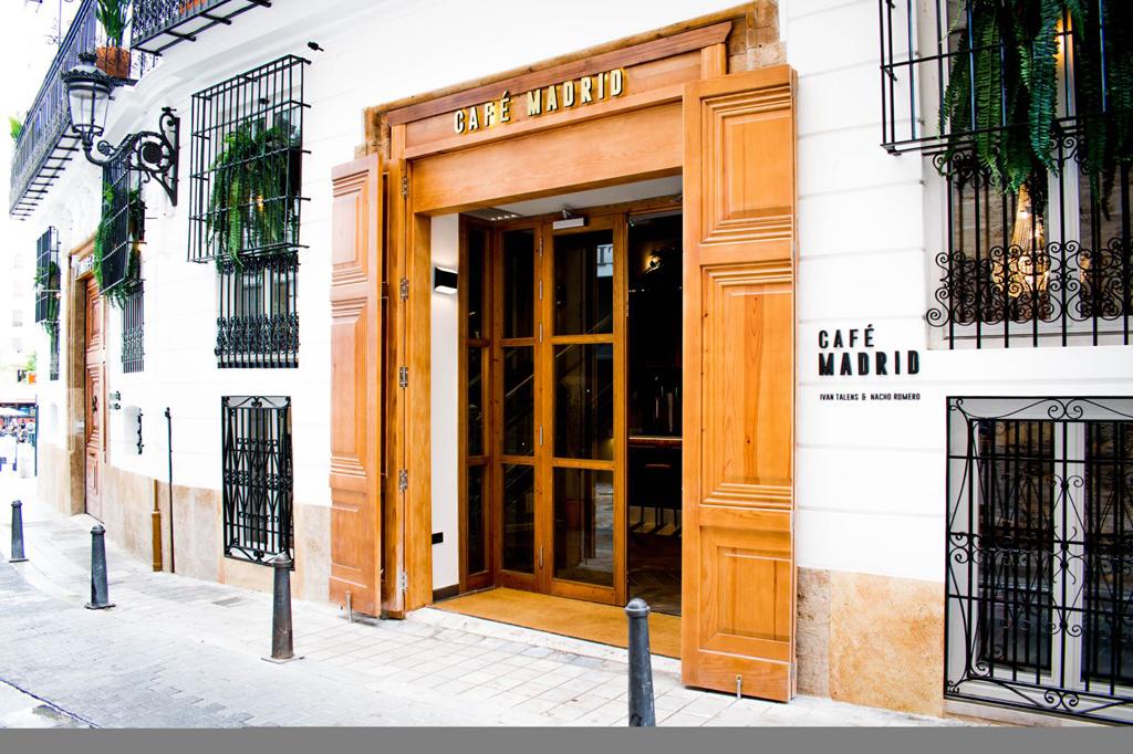 Café Madrid en Valencia.