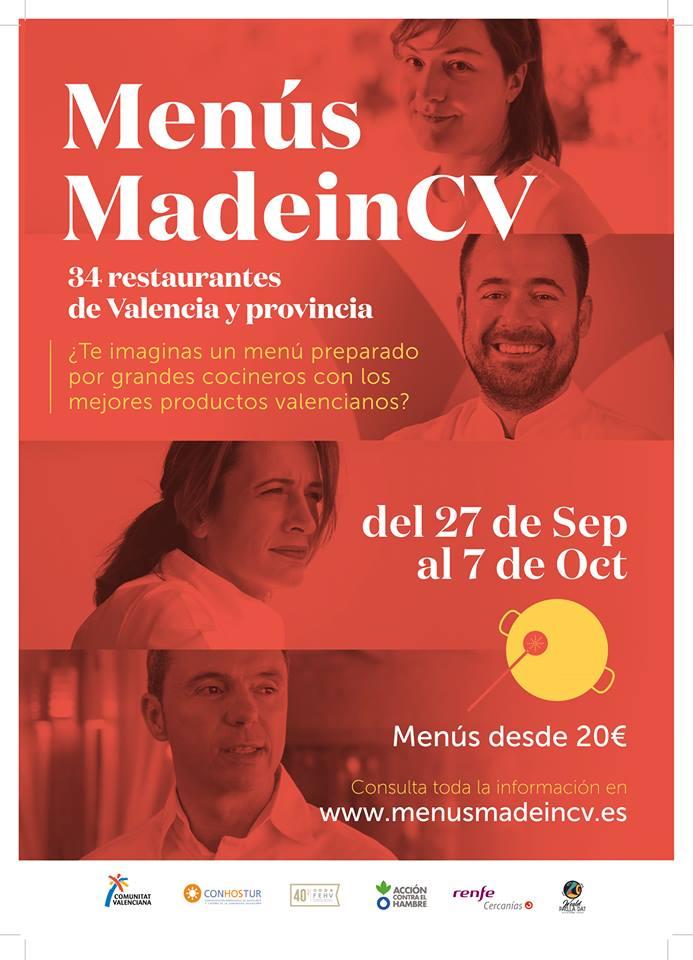 Menús MadeinCV