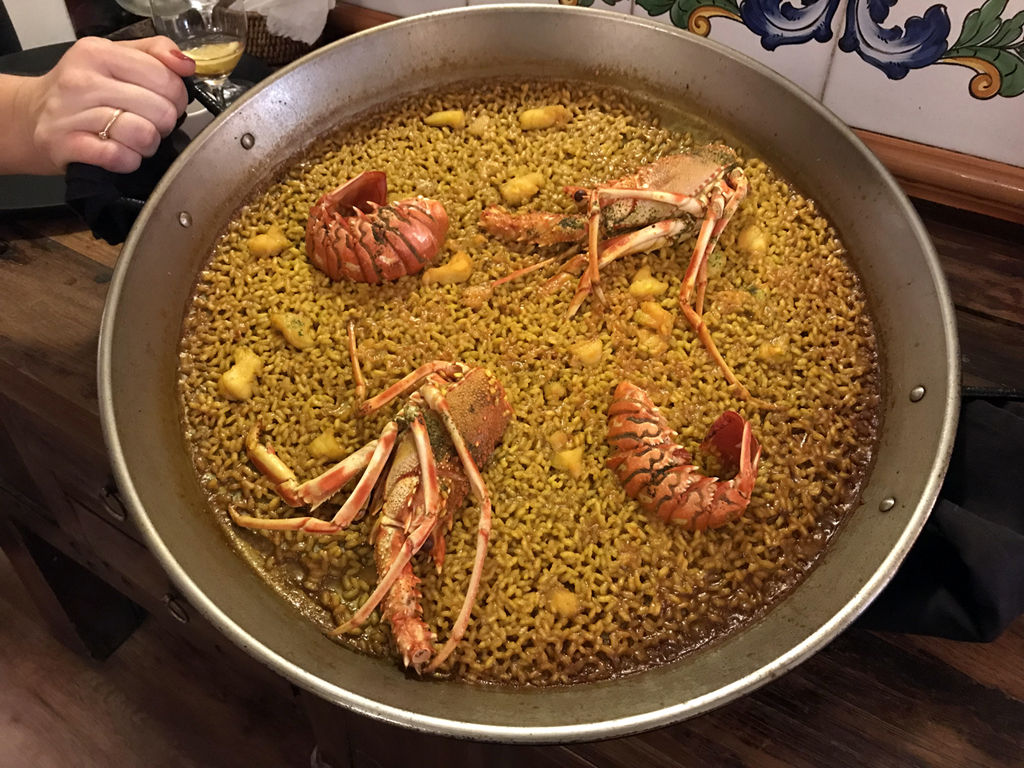 Restaurante Racó del Turia.