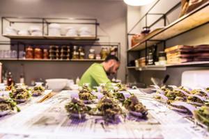 Restaurante italiano Al Pomodoro en Valencia.