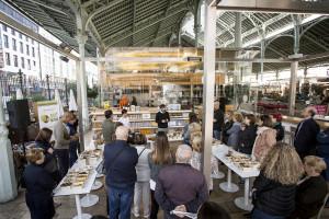 Show cooking sobre setas en Mi Cub (Mercado de Colón)