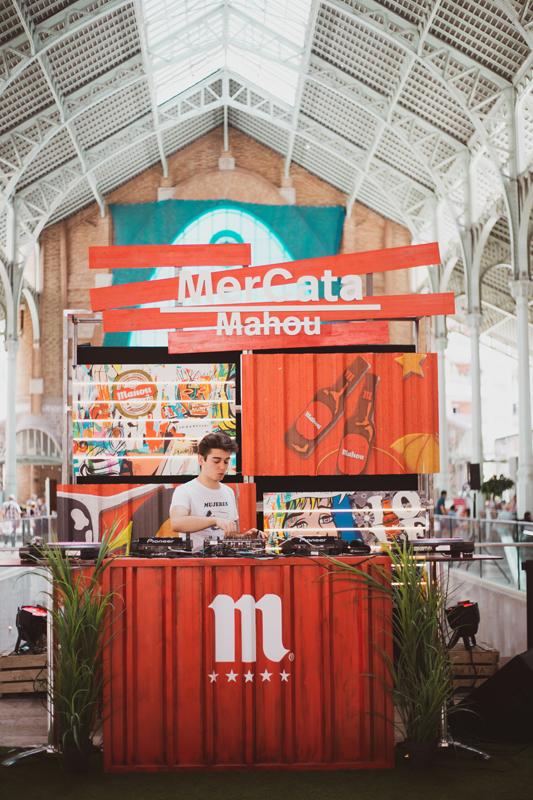 Mercata Mahou en el Mercado de Colón