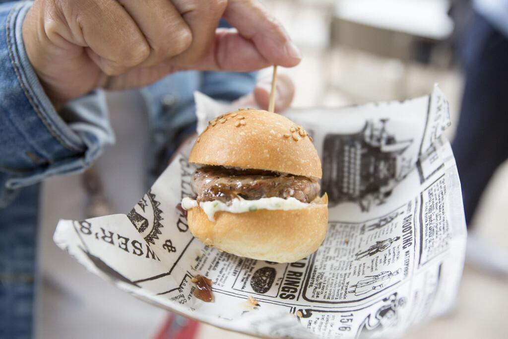 Burger valenciana de figatell en Mi Cub